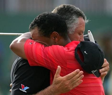 Tiger Woodsin ja Steve Williamsin suhde ei ollut helppo.