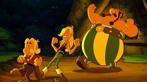 Asterix ja viikingit on suunnattu perheen pienimmille.