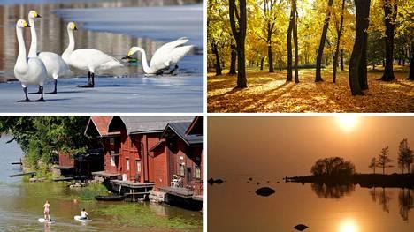 Suomi on upea maa.