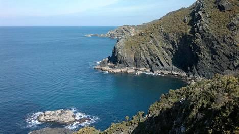 Galician rannikolla Espanjan luoteisosassa on kauniit maisemat. Kuva Coruñasta.