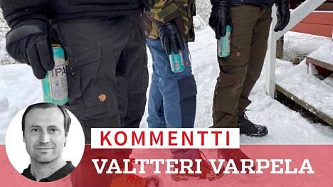 Ykkösolut ja Fjällrävenin retkihousut, tästä ei olemus faijemmaksi muutu.