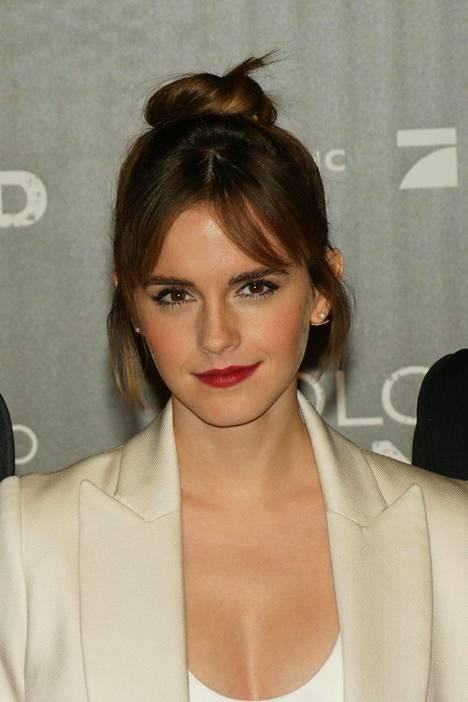Kuvassa näyttelijä Emma Watson Colonia Dignidad -elokuvan ensi-illassa Berliinissä.