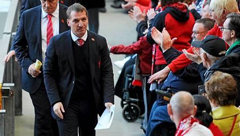 Brendan Rodgersin manageroima Liverpool on lähellä voittaa Valioliigan mestaruuden.