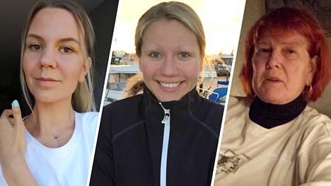 Essi, Sanna ja Seija kertovat elämästään Ruotsissa korona-aikana.