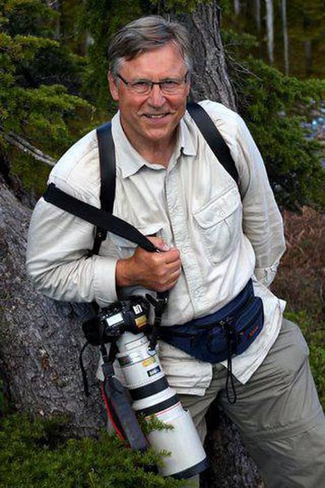 Pertti Salolainen on jo pitkään harrastanut luontovalokuvausta.