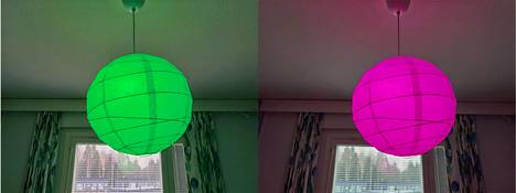 Aloituspakkauksen lamput taipuvat mitä moninaisimpiin väreihin.