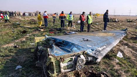 Ukrainalaiskone syöksyi maahan Iranissa toissa päivänä, ja kaikki koneessa olleet 176 ihmistä kuolivat.