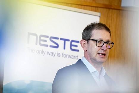 Öljytuotteet-liiketoimintayksikön johtajan Marko Pekkolan mukaan Nesteellä ei ole uusia suunnitelmia alueen hyödyntämiseen.