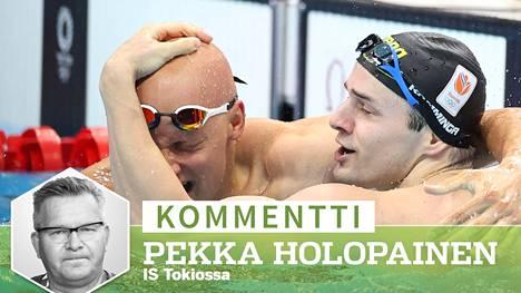 Matti Mattson on tuore olympiapronssimitalisti.
