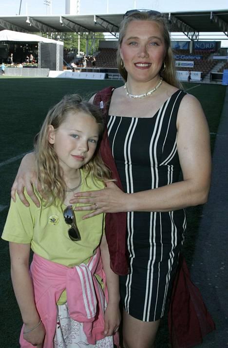 Äiti ja tytär kuvattuna vuonna 2007.