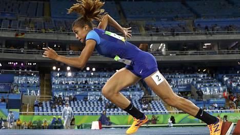Sydney McLaughlin oli mukana Rion olympialaisissa vain 17-vuotiaana. Hän sijoittui 400 metrin aidoissa oman semifinaalinsa viidenneksi eli finaalipaikka jäi vielä toistaiseksi saavuttamatta.