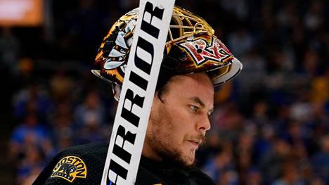 Tuukka Rask jättää NHL:n tähdistötapahtuman väliin.