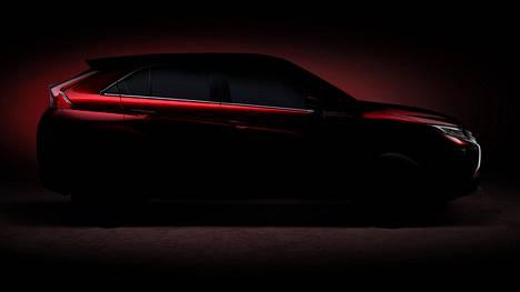 Uuden Mitsubishin muodot paljastuvat maaliskuussa tarkemmin.