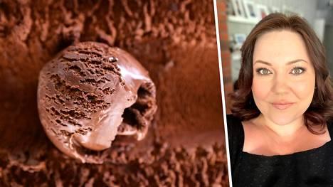 Sonja näyttää videoilla, kuinka valmistetaan herkullisen makeita ja yksinkertaisia jäätelöitä mutakakun, Oreo-keksien ja amerikanpastillien mauissa.