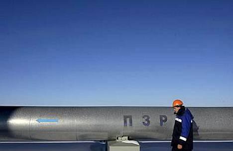 Ukrainan Naftogaz-yhtiö ei pysty toimittamaan venäläistä kaasua Eurooppaan, koska se tarvitsee kaasuputkiston maan sisäisiä kuljetuksia varten.