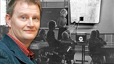 Ohjaaja Matti Grönberg muistaa kouluajoista varsinkin spriiltä tuoksuvat monisteet.