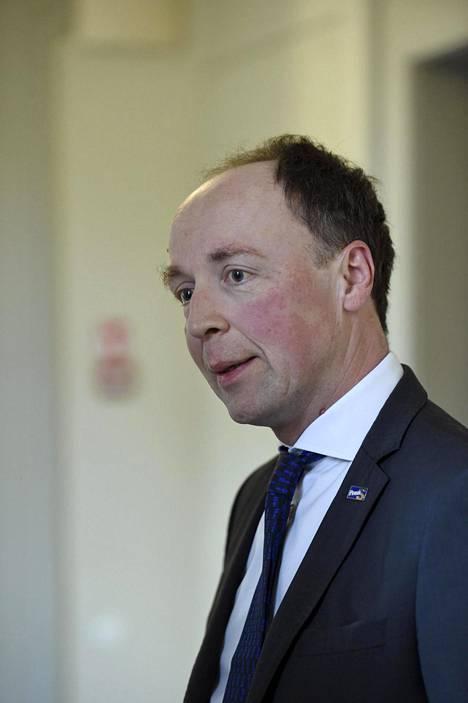 Myös perussuomalaisten puheenjohtaja Jussi Halla-aho sai kahdeksan prosentin kannatuksen.