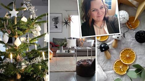 """Marika aloittaa joulusisustamisen jo lokakuussa – tämän vuoden """"tonttuovi"""" on minipuutarha kynttilälyhdyssä"""