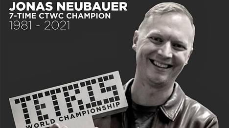 Jonas Neubauer, 39, voitti seitsemän kertaa Tetriksen maailmanmestaruuden.