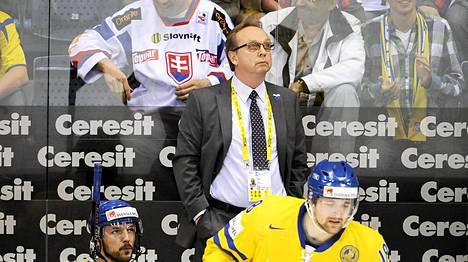 Pär Mårtsin ja Ruotsin kausi alkoi tappiolla.