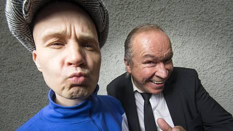 Marko Maunuksela ja Ilkka Vainio ovat mukana revyyssä, joka sai ensi-iltansa Tangomarkkinoilla.