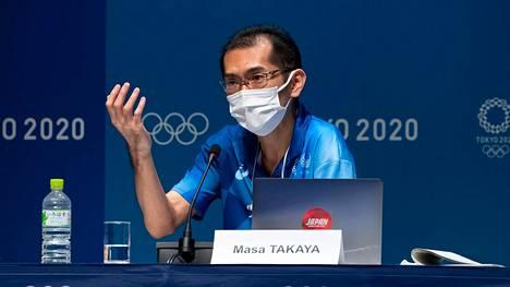 Masa Takaya korosti, että Tokion olympiakylä on turvallinen paikka asua.
