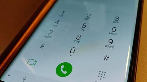 Puhelinnumero on myös käyttäjätunnus ja kirjautumiskoodi koneen verkkopalveluun.