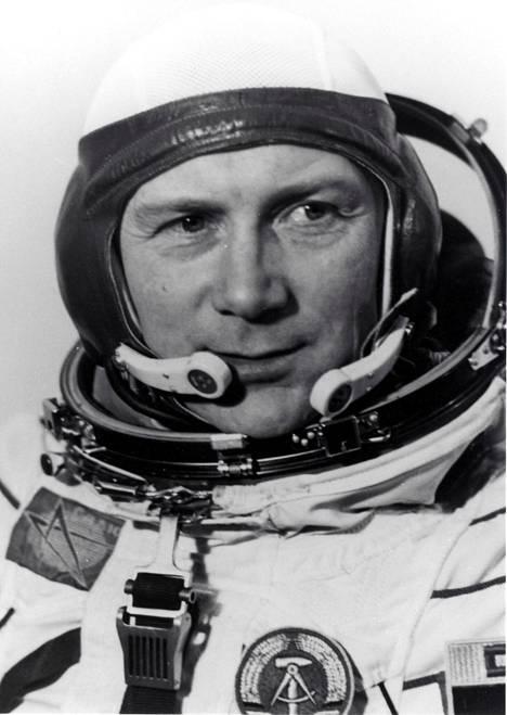 Sigmund Jähn oli ensimmäinen ja viimeinen itäsaksalainen, joka pääsi avaruuteen.