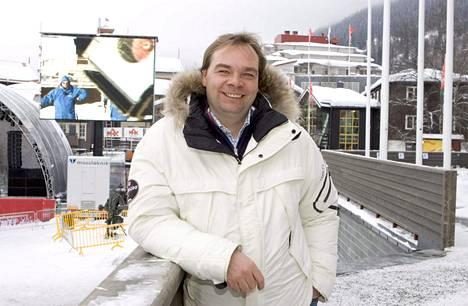 Martti Uusitalon rooli puhuttaa hiihtopiireissä. Arkistokuva.