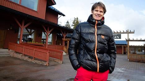 Rallin kaksinkertainen maailmanmestari Marcus Grönholm kuvattuna keväällä 2020.