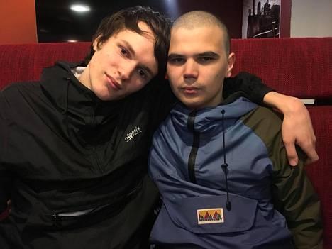 Aleksandr ja Nikita tulivat Suomeen laittomasti huhtikuussa.