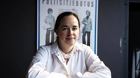 Rebecca Bucht työskentelee keskusrikospoliisin rikosteknisessä laboratoriossa