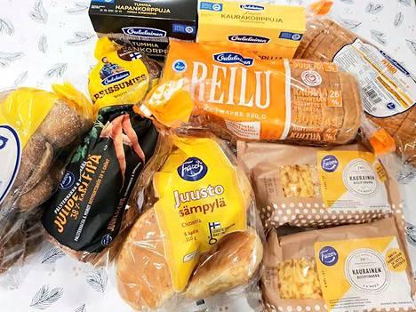 Kuten monessa lapsiperheessä, leipää menee!