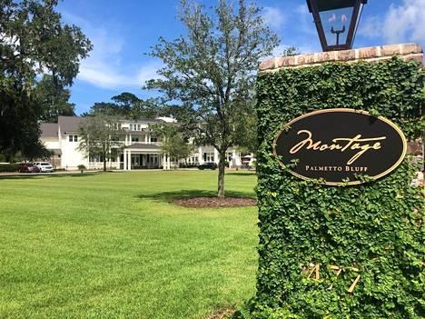 Hääpaikka sijaitsee Etelä-Carolinassa.