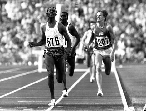 Tapio Kantasen uran kohokohta oli Münchenin 1972 olympiapronssi. Kenian Kip Keino oli suvereeni voittaja.