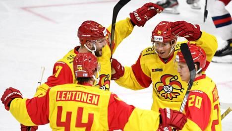 Jokerit on voittanut tällä kaudella seitsemästä KHL-ottelustaan neljä.