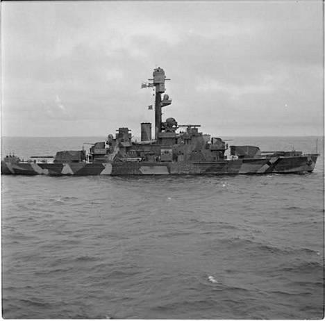 Panssarilaiva Ilmarinen oli Suomen laivaston ylpeys - lippulaiva.