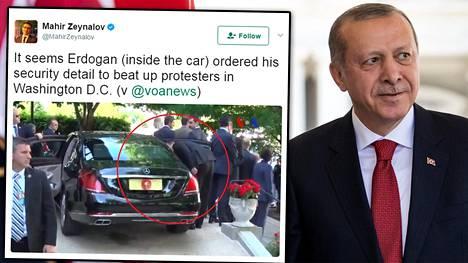 Turkin presidentti Recep Tayyip Erdogan tapasi Yhdysvaltain presidentin Donald Trumpin tällä viikolla.