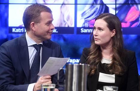 –Hyökkäykset ovat tulleet pääministerin suunnalta, Orpo sanoo pääministeri Sanna Marinista.