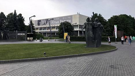 Ilja Repinin Moskovan-näyttely on esillä Tretjakovin gallerian uudella puolella eli osoitteessa Krymski val 10.