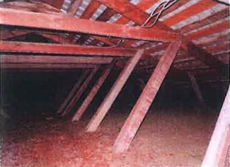 Talon vesikattorakenteessa ei ole aluskatetta.