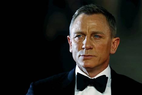 James Bondia näyttelevä Daniel Craig vuonna 2015.