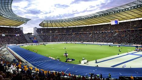 Edelliset yleisurheilun EM-kisat kilpailtiin Berliinissä.
