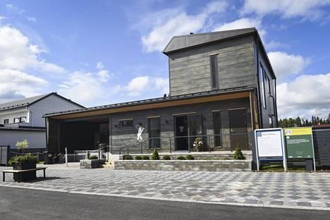 Kontio Hill House on suunniteltu harrastavalle aktiiviselle perheelle.