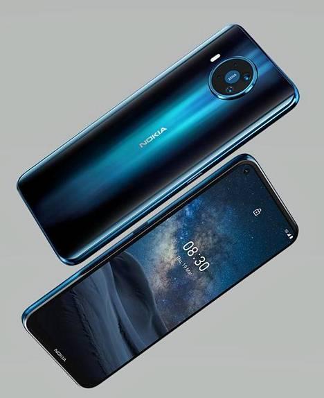 Nokia 8.3 on HMD:n ensimmäinen 5g-puhelin.