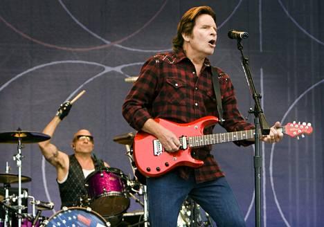 John Fogerty esiintyi Pori Jazzeilla 2010.