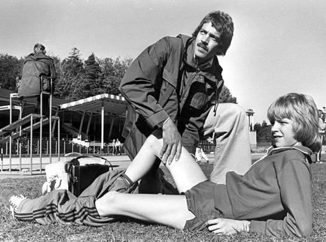 Viljo Nousiaisen ja Patrik Sjöbergin valmennussuhde alkoi Sjöbergin ollessa 10-vuotias.