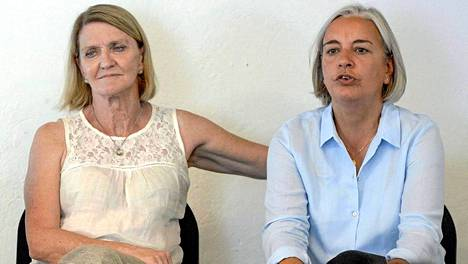 He joutuivat murhaiskun kohteeksi: Kathy Gannon (vas.) selvisi hengissä, Anja Niedringhaus menehtyi.