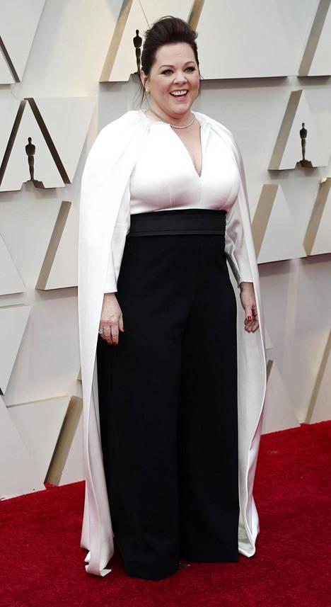 Oscar-ehdokkaanakin tunnettu näyttelijä Melissa McCarthy.