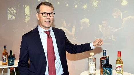 Altian toimitusjohtaja Pekka Tennilä tiedotustilaisuudessa Helsingissä 29. syyskuuta.